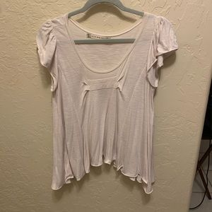 Chelsea and Violet Ivory Blouse Size: Small